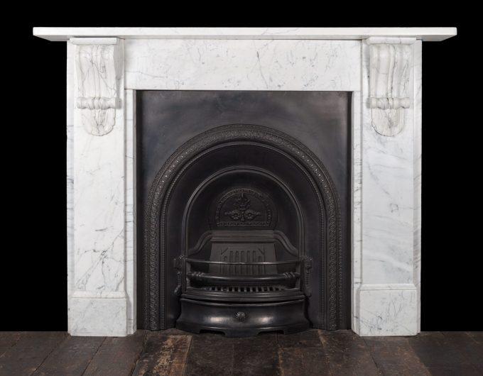 Corbel fireplace