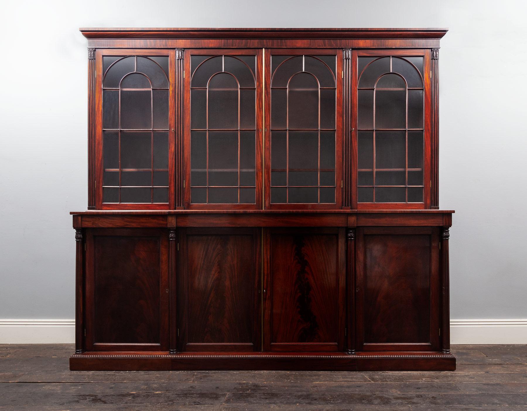 Antique Bookcase – AF098