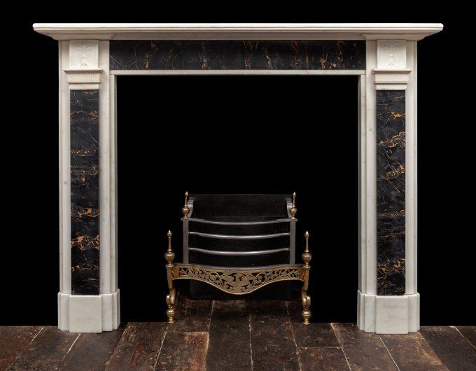 Portoro fireplace