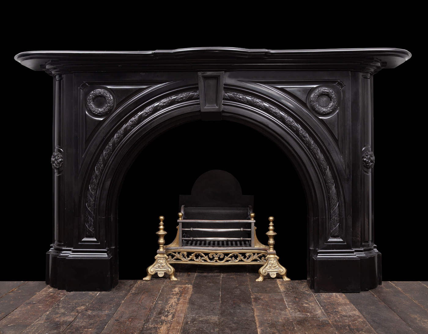 Remarkable Black Marble Fireplace 19331 19Th Century 19Th Century Download Free Architecture Designs Boapuretrmadebymaigaardcom