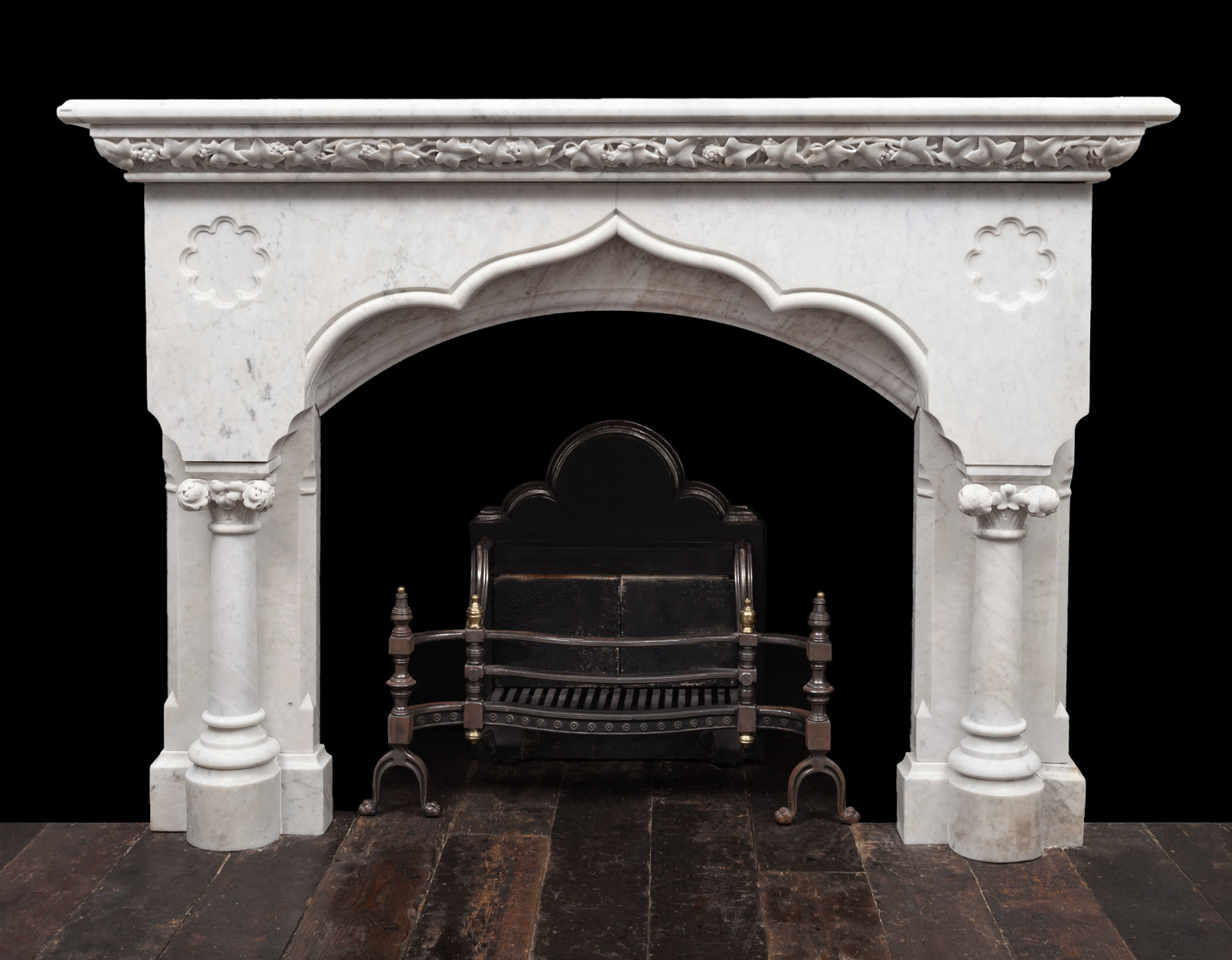 Gothic Fireplace -19337