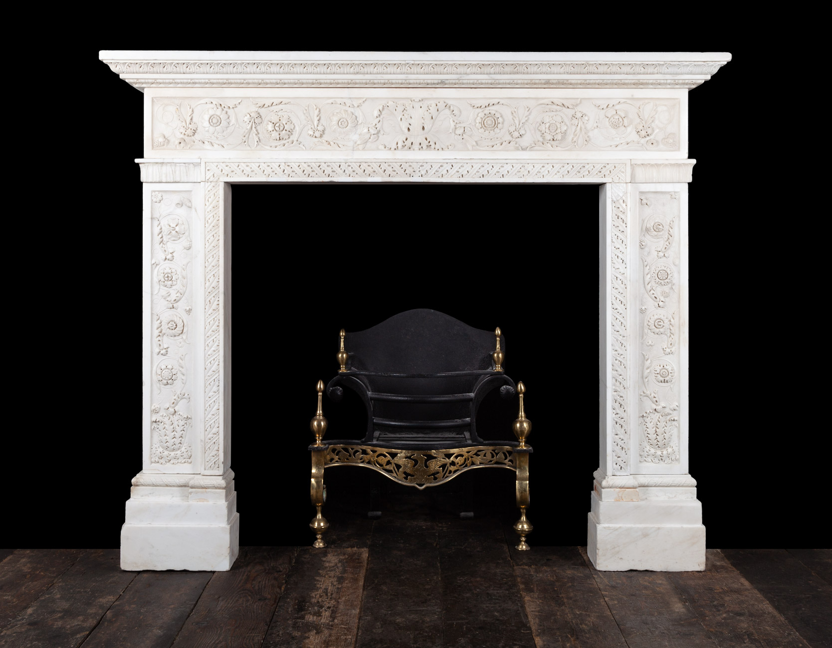 Antique Fireplace – 18169