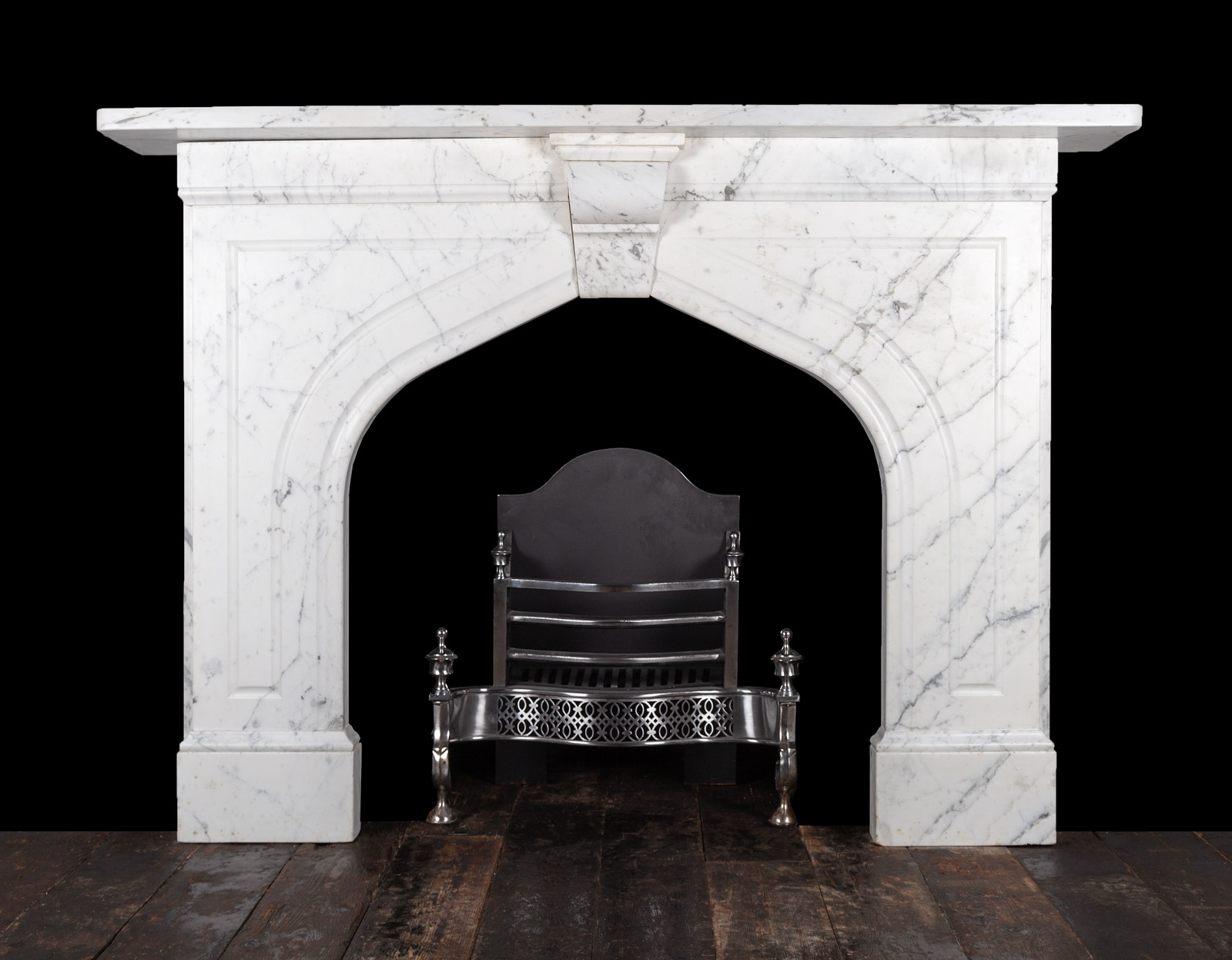 Carrara Fireplace – 19347