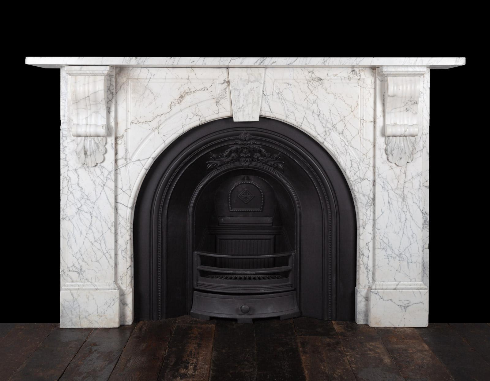 Carrara Fireplace – 19348