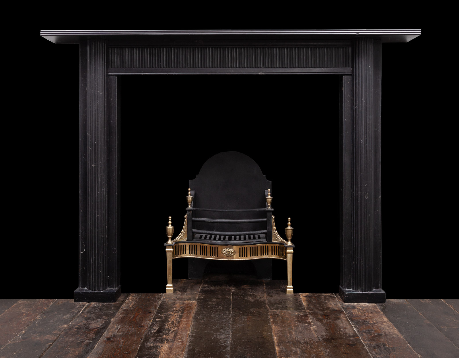 Black Fireplace – 19349