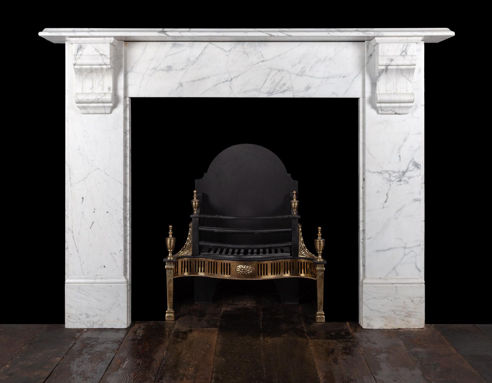 Carrara Fireplace – 19350