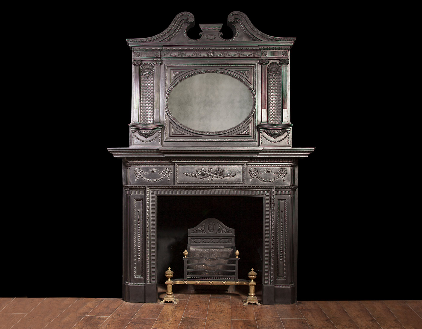 Cast-iron Fireplace Ci040