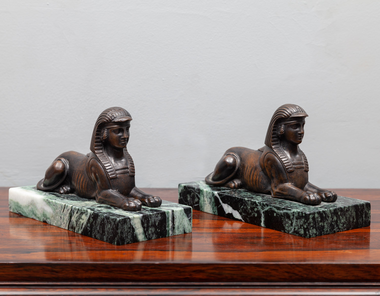 Bronze Sphinxes – SC027