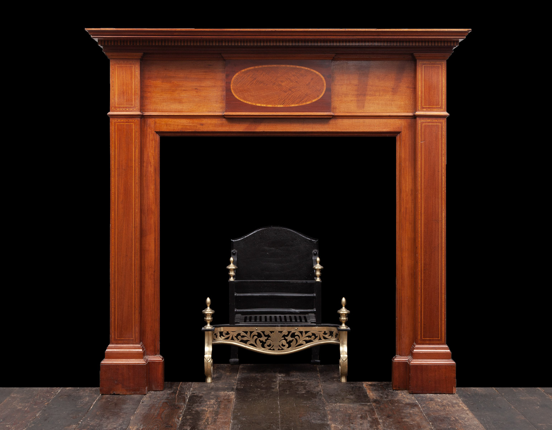 Wooden Mantel – W129