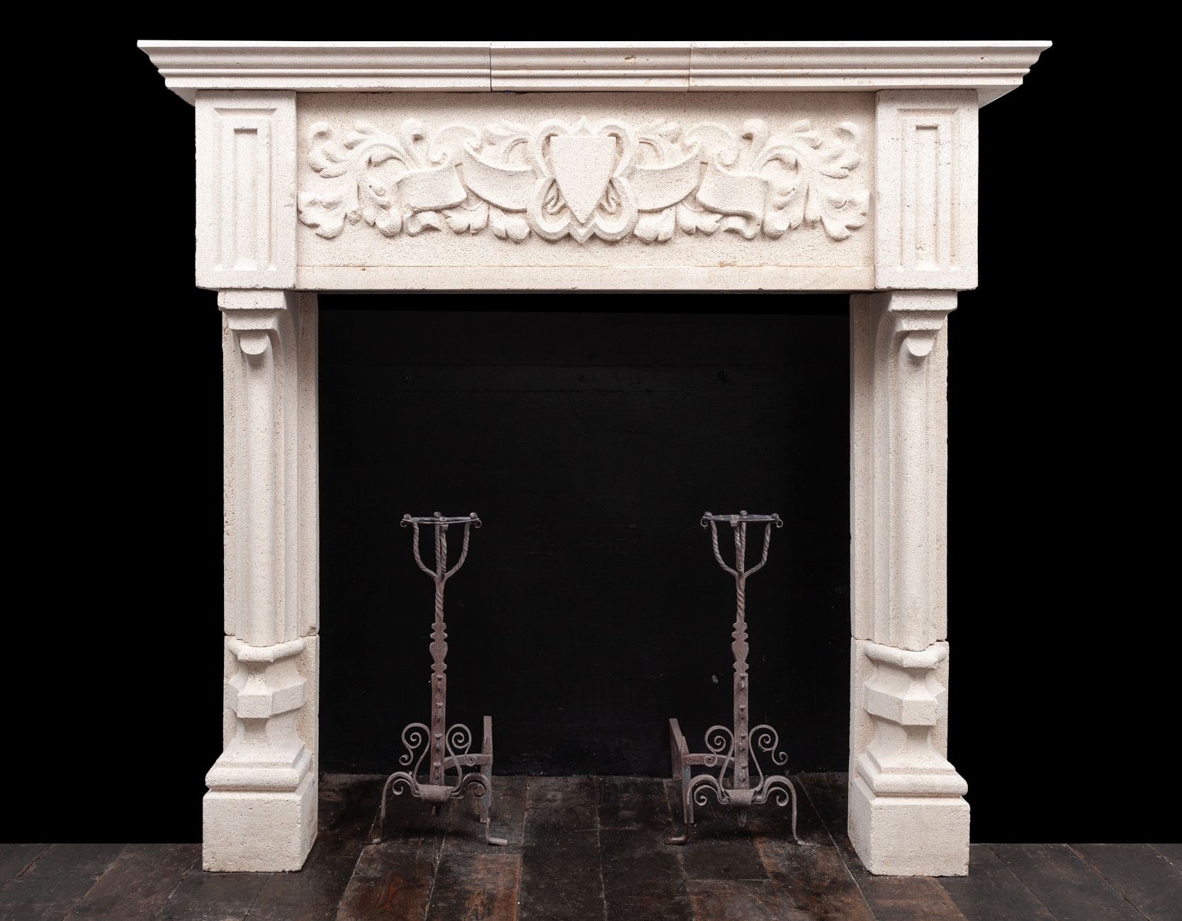 Stone Fireplace – ST029