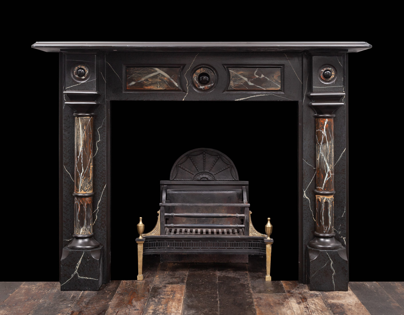 Slate Fireplace – SL035