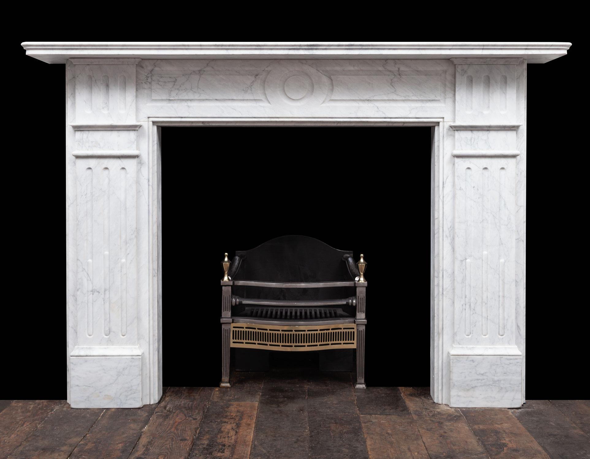 Carrara Fireplace – 19379
