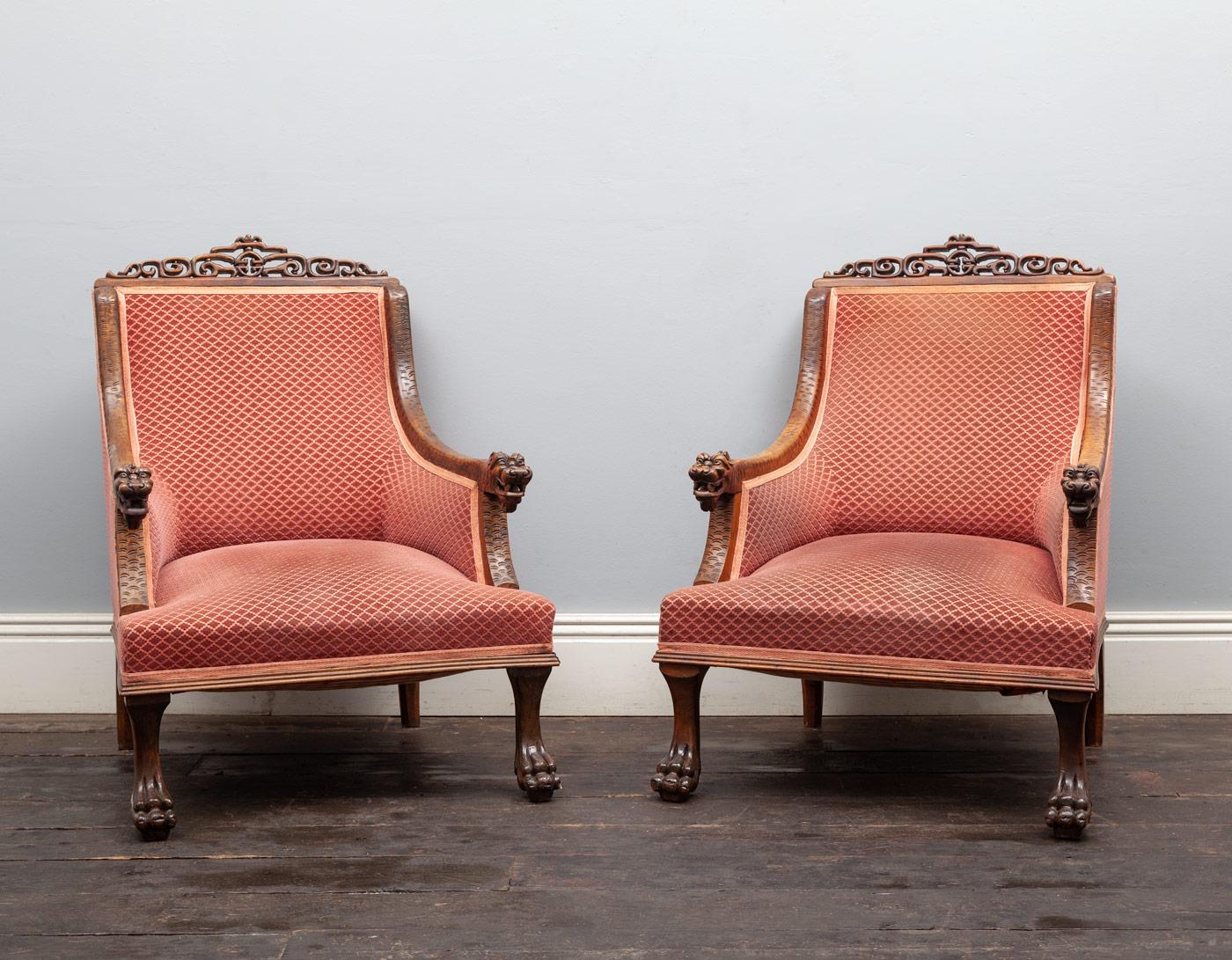 Pair of Armchairs – AF113