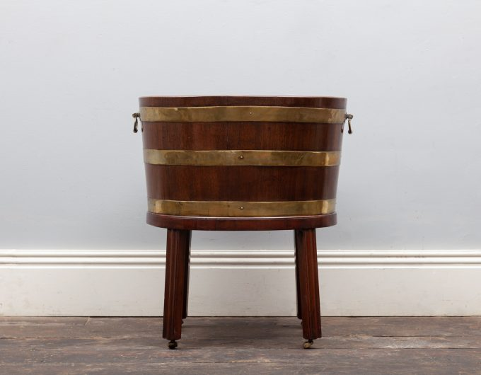 Antique wine cooler
