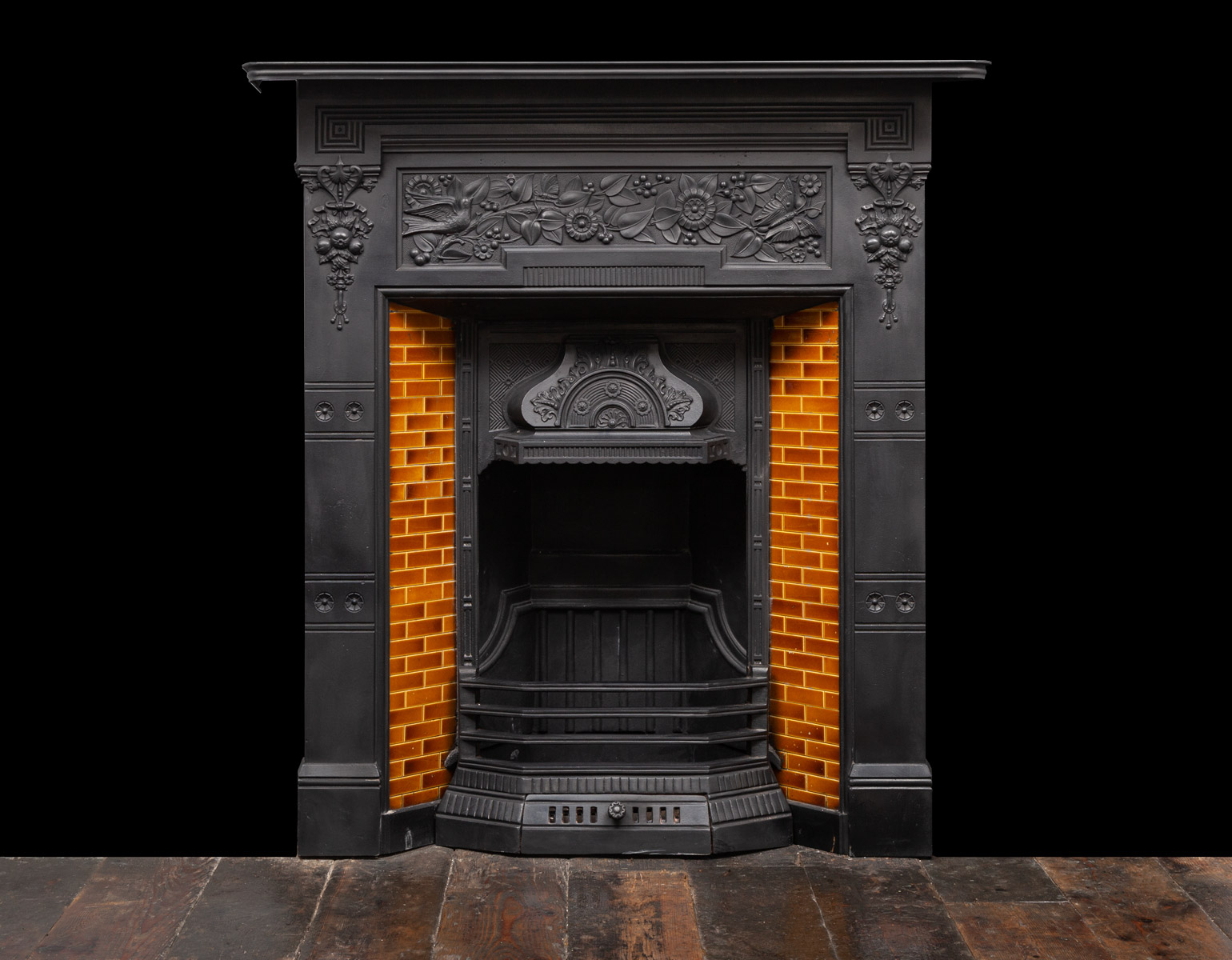 Cast-Iron Fireplace – Ci203