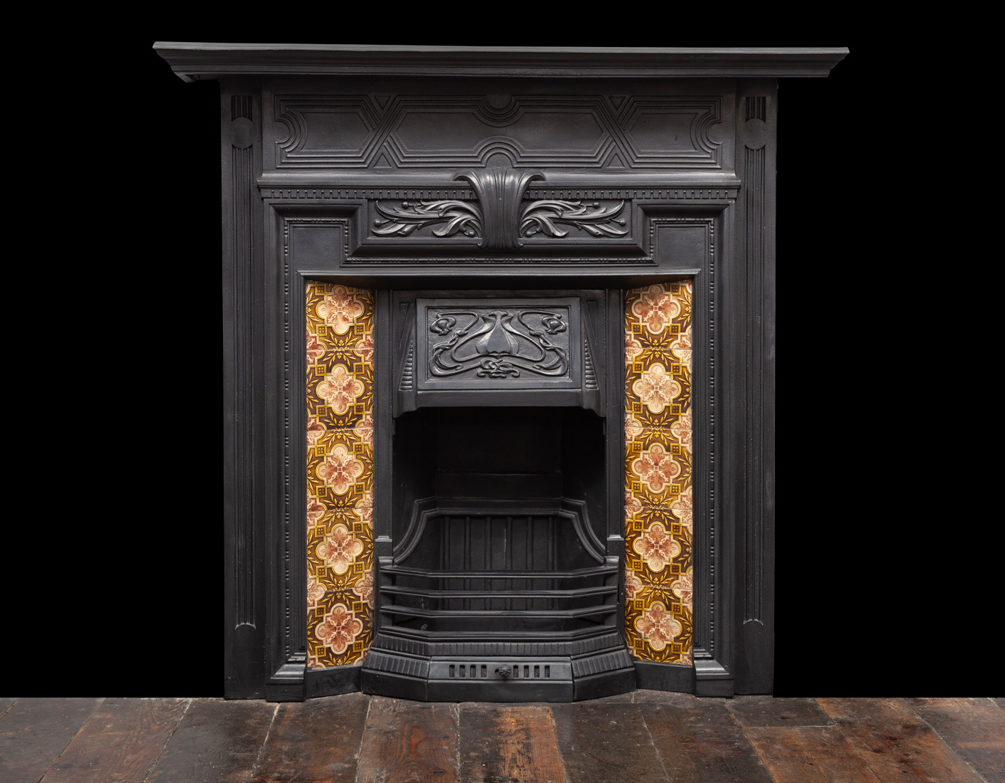Cast-Iron Fireplace – Ci204