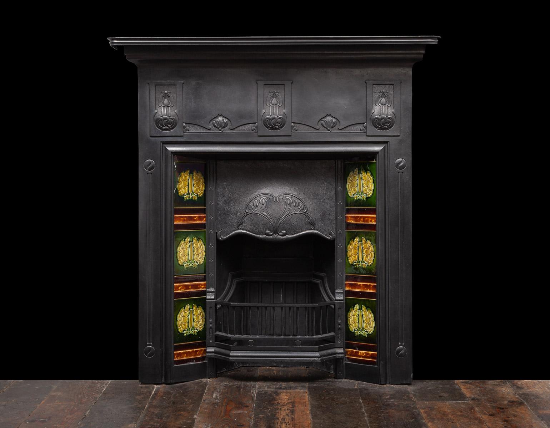 Cast-Iron Fireplace – Ci205