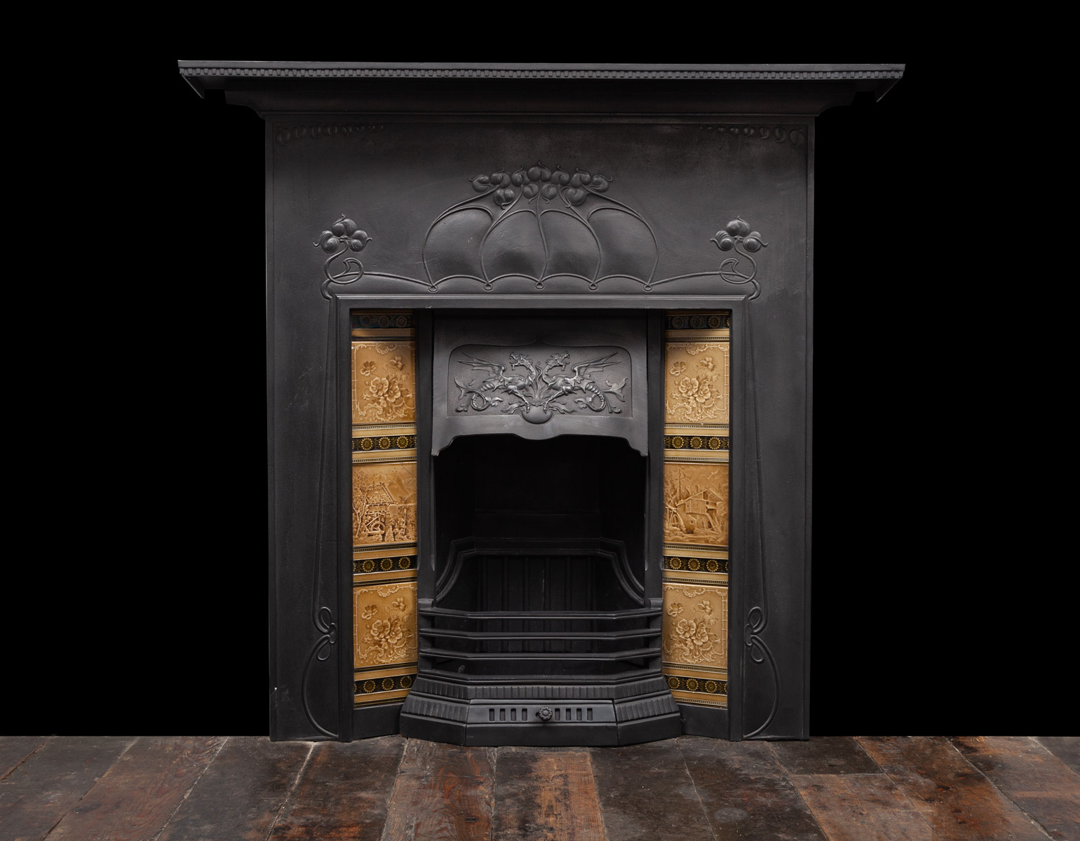 Cast-iron Fireplace – Ci208