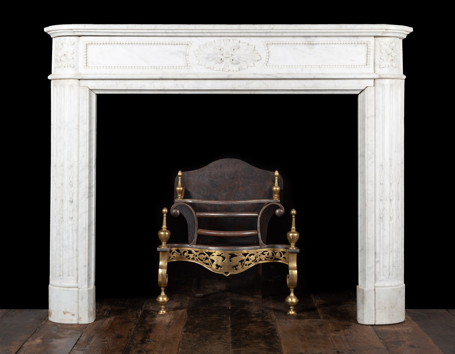 Pair of Fireplaces – 19419
