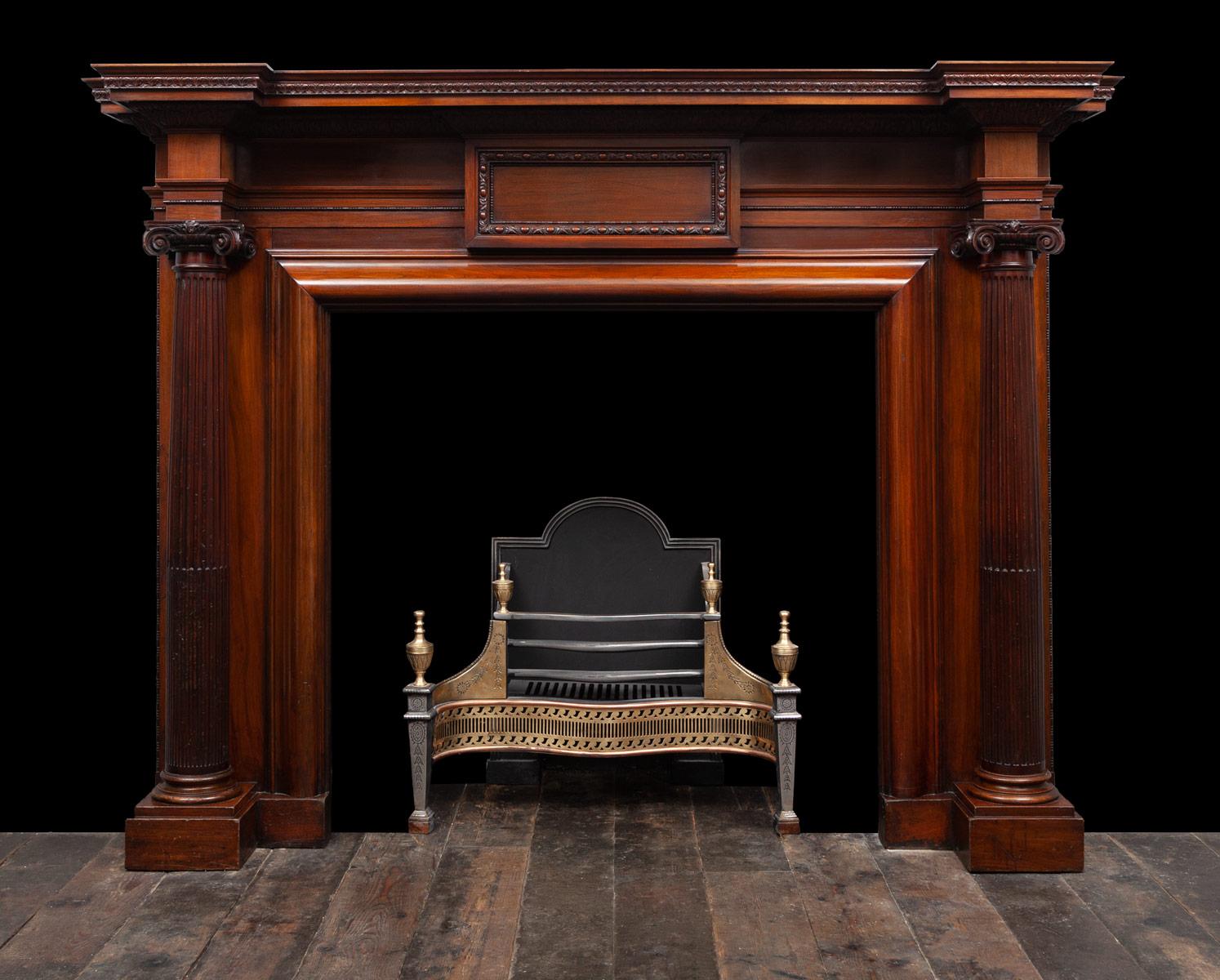 Wooden Mantle – W143