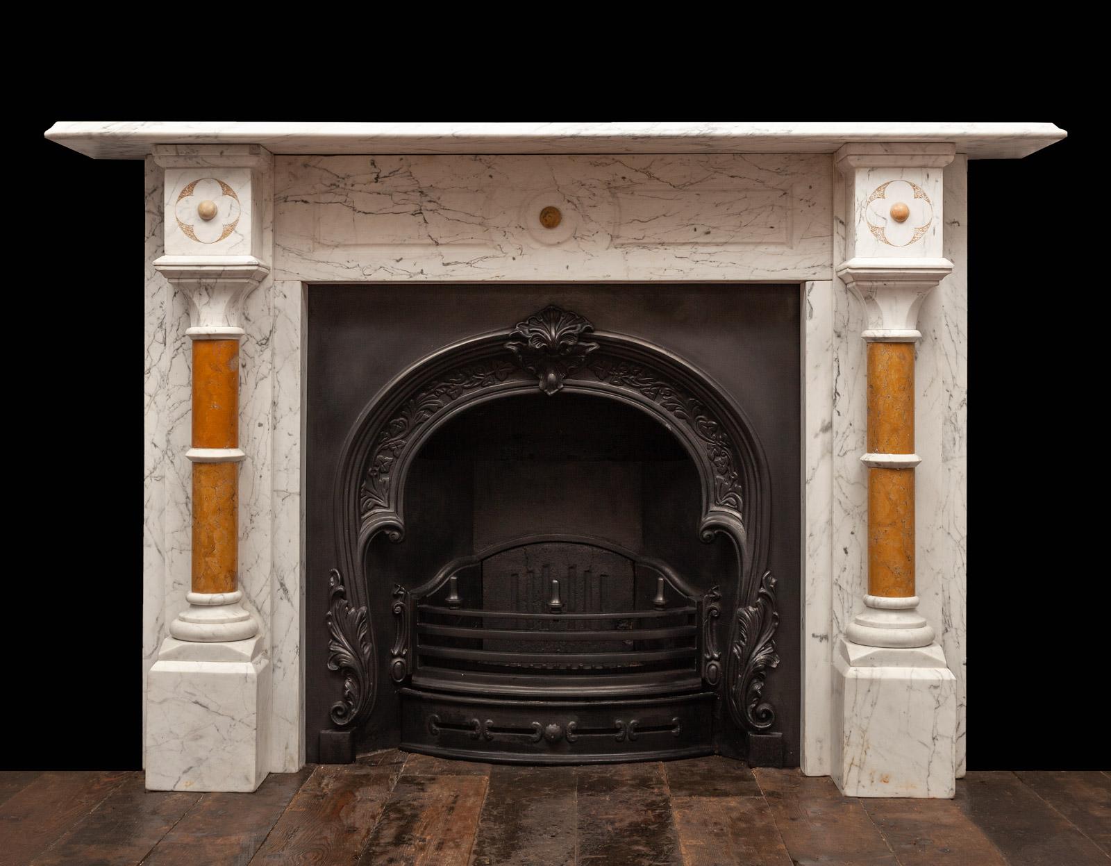 Column Fireplace – 19441