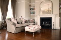Regency Style Marble Fireplace