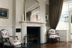 Regency Style Marble Fireplace