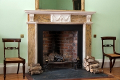 Irish Georgian Marble Chimneypiece