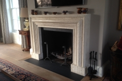 Bespoke Travertine Fireplace