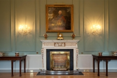 Antique blue John chimneypiece in the manner of James Paine