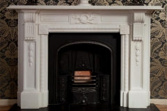 The Ashley marble fireplace made by Ryan & Smith