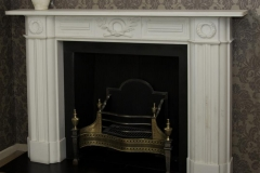 The cheltenham marble fireplace made by ryan smith
