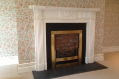 The Belview marble fireplace by Ryan & Smith