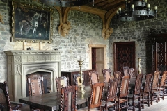 Pugin stone fireplace by Ryan & Smith