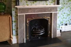 Lissan marble fireplace by Ryan & Smith