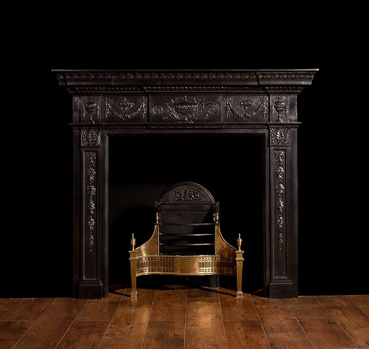 Adam Style Cast Iron Fireplace – CI006