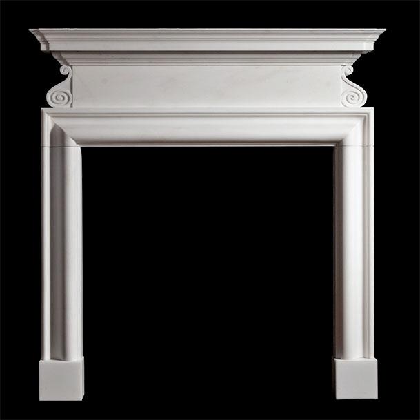 Belton – Marble Fireplace