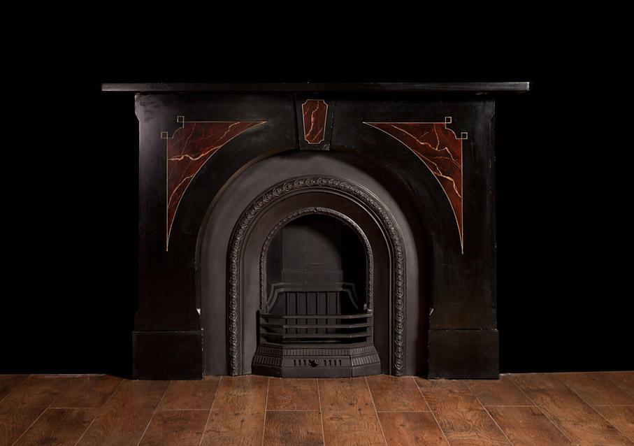 Victorian Slate Fireplace – SL007