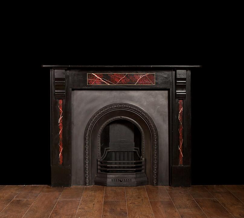 Slate Fireplace – SL008