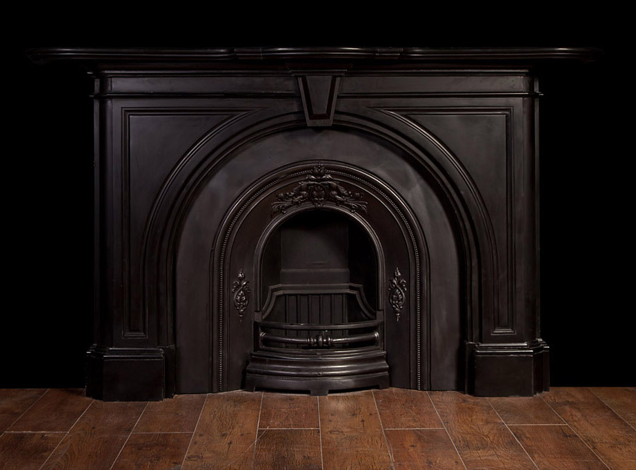 Black Marble Fireplace – 19095