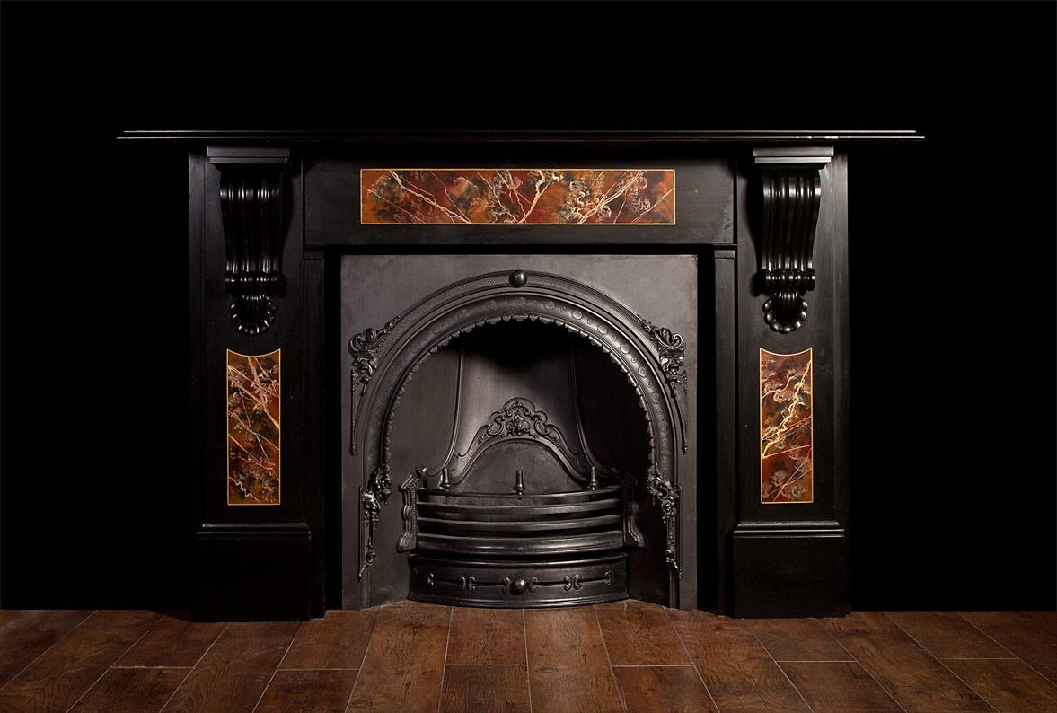 Victorian Slate Fireplace – SL013