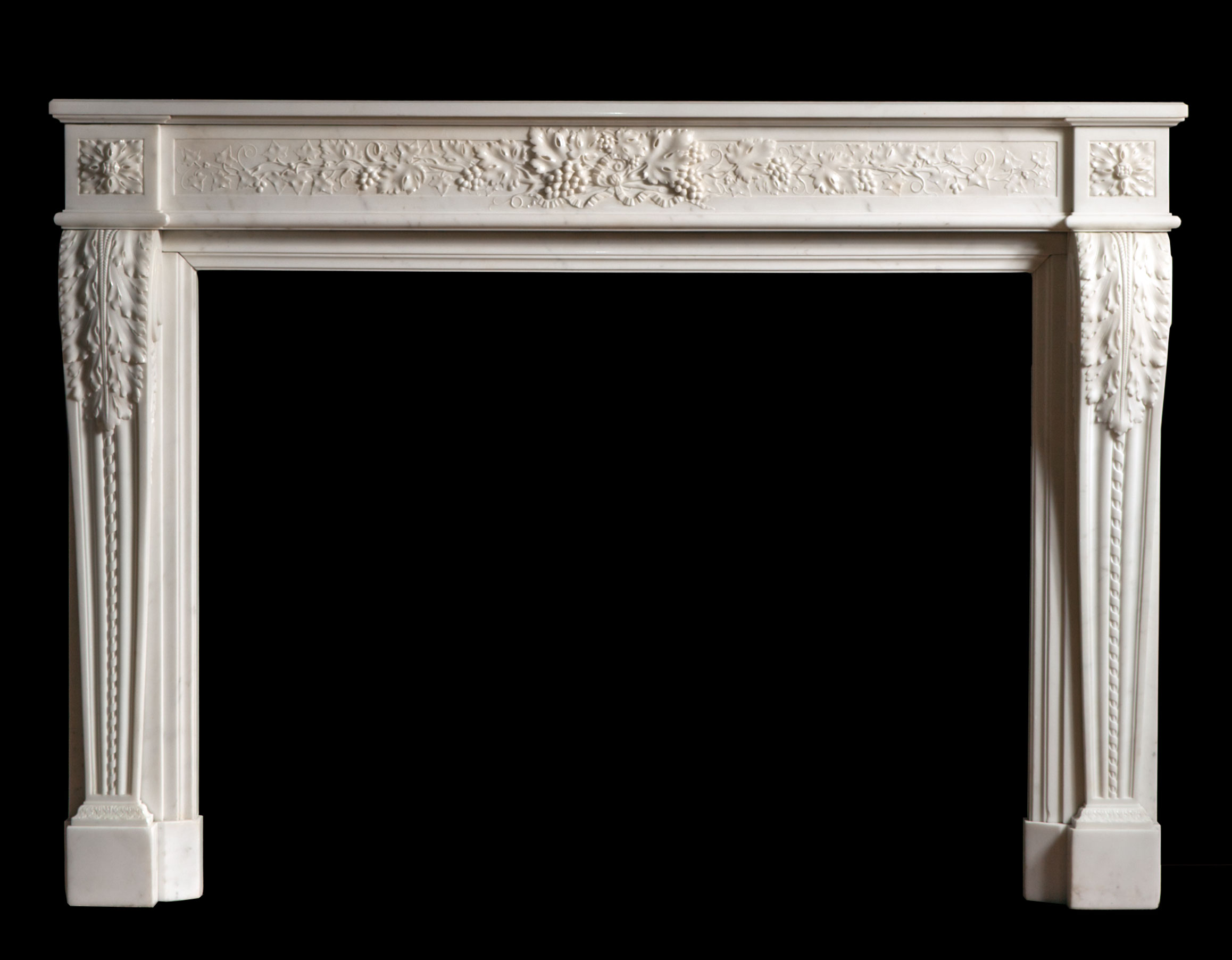 Fleur – French Louis XVI Style Fireplace