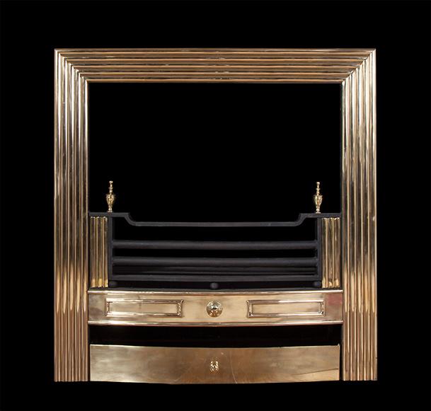 Fitzwilliam – Brass Register Grate