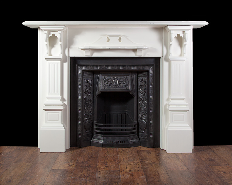 Antique Slate Fireplace – SL019