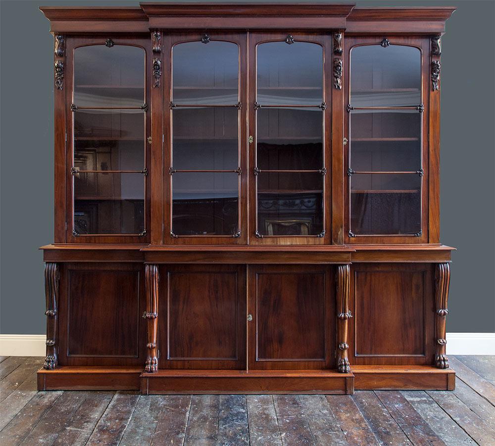 Antique Bookcase – AF018