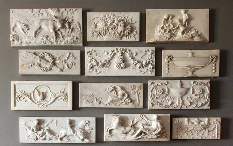 Antique Fireplace Tablets – SC012