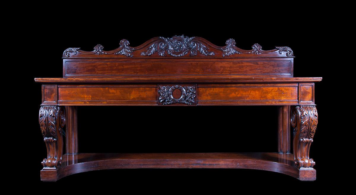Antique Regency Sideboard – AF030