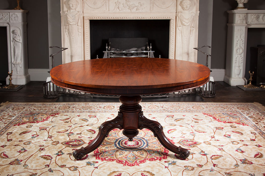 Rosewood circular Table – AF031