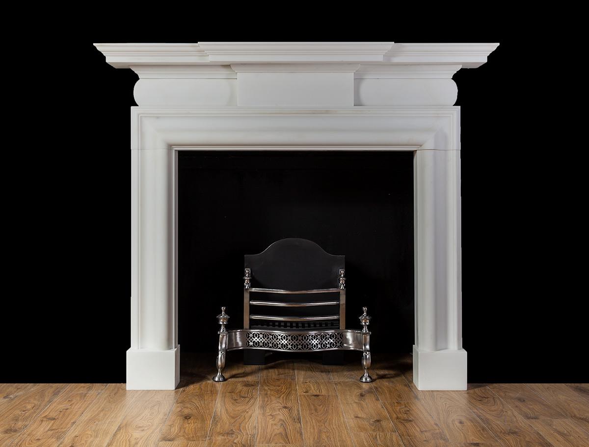 Blackrock – Marble Fireplace