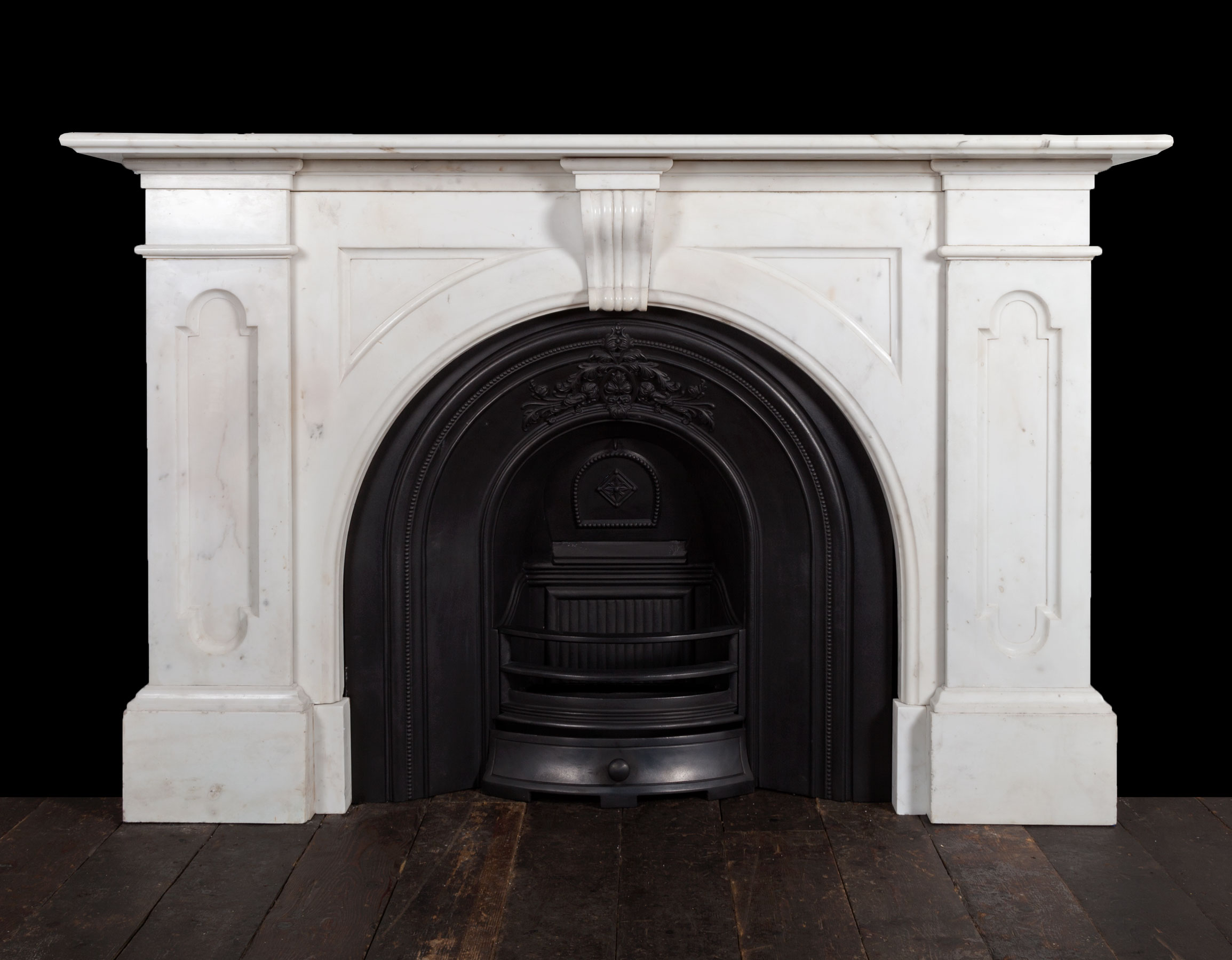 White Marble Fireplace – 19265